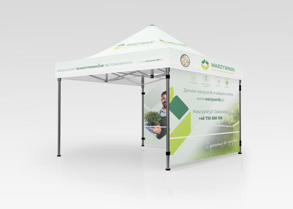 namiot - projektowanie graficzne rzeszów - agencja marketingowa concrea