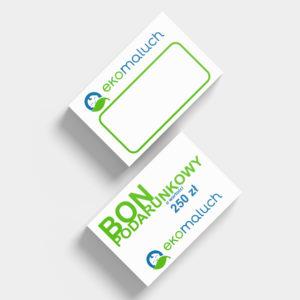 bon podarunkowy - projektowanie graficzne rzeszów - agencja marketingowa concrea