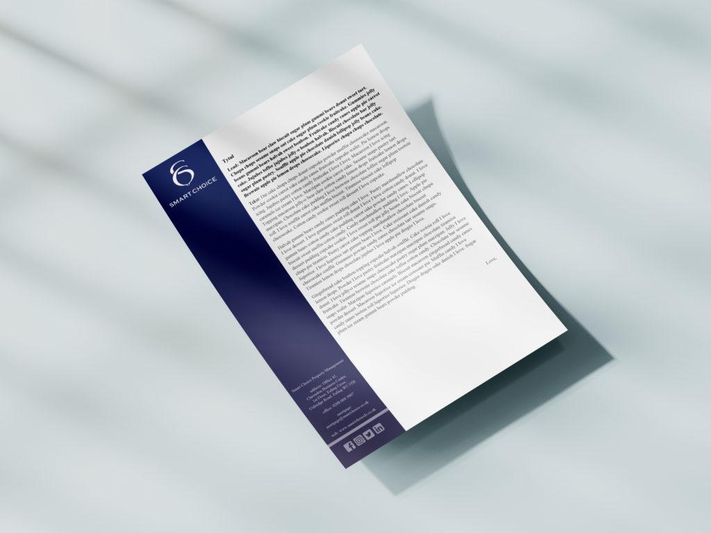 papier firmowy - projektowanie graficzne rzeszów - agencja marketingowa concrea
