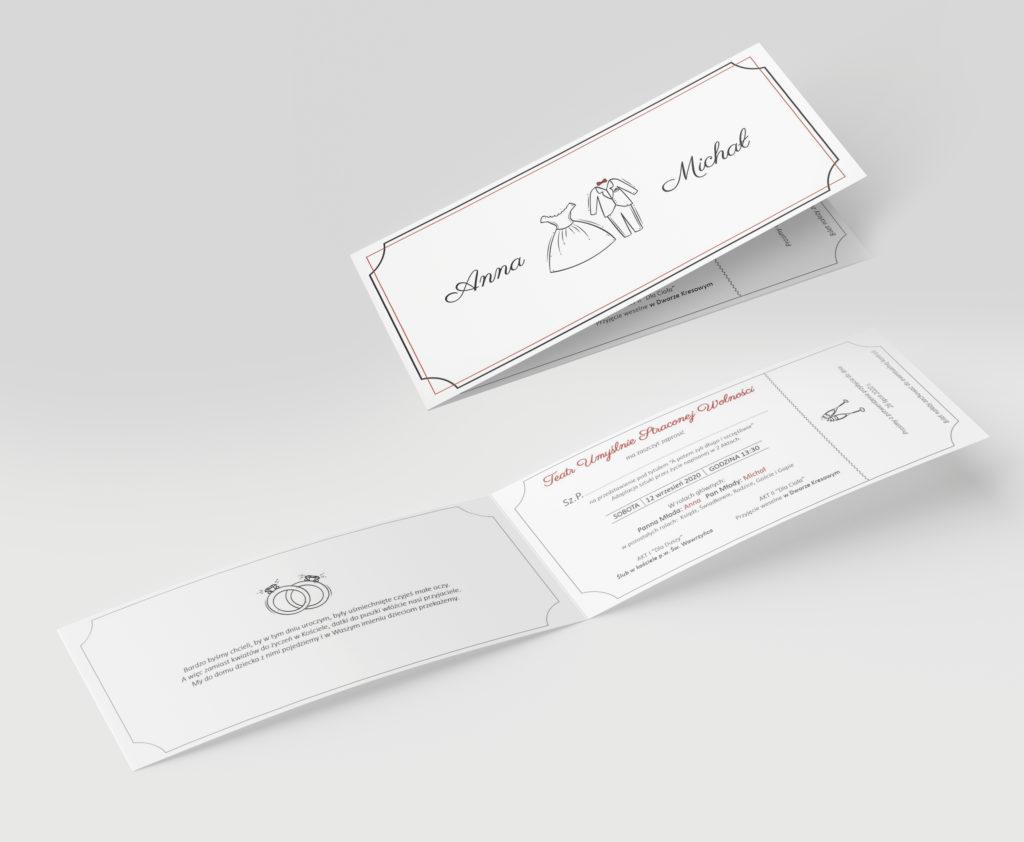 zaproszenia ślubne - projektowanie graficzne rzeszów - agencja marketingowa concrea